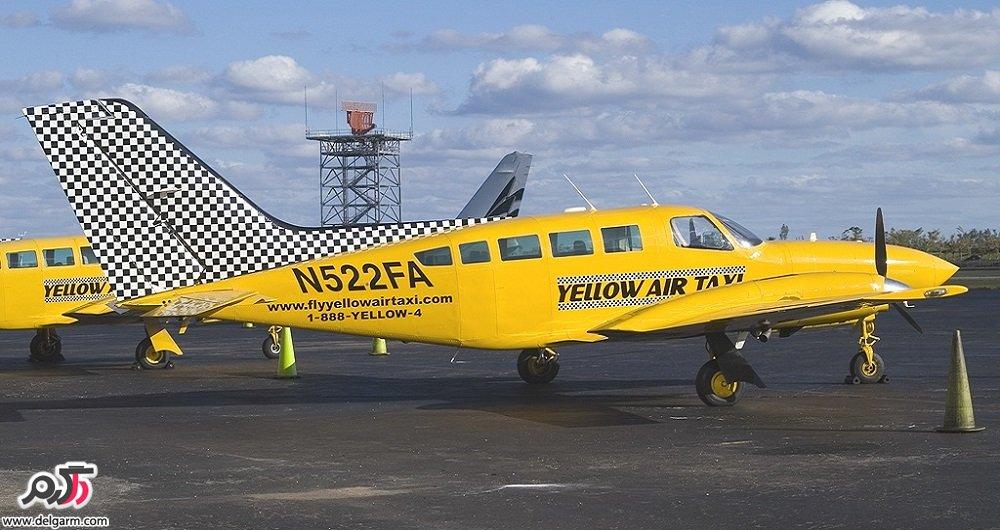نخستین مجوز تاکسی هوایی در کشور