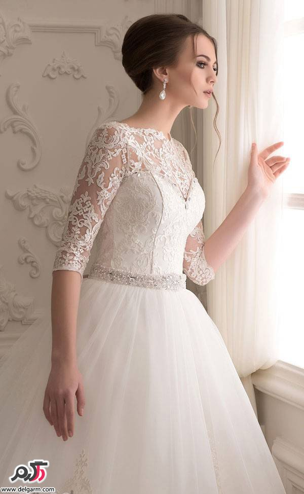 Bride dress and lace