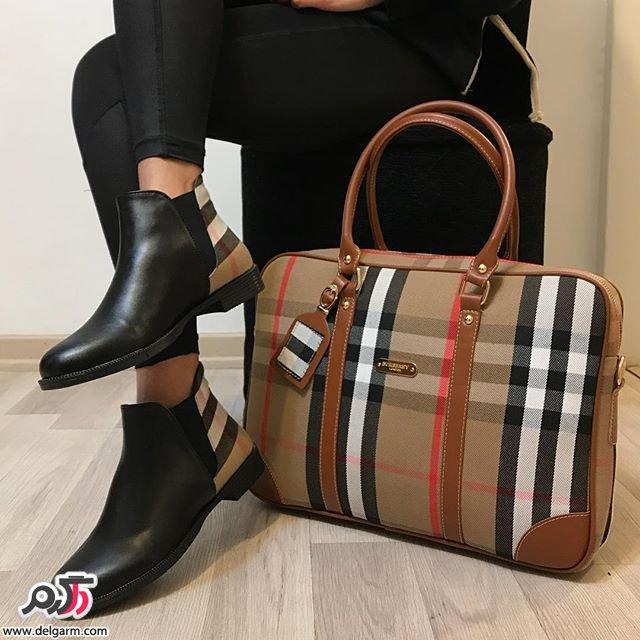 ست کیف و کفش زنانه اسپرت 2018