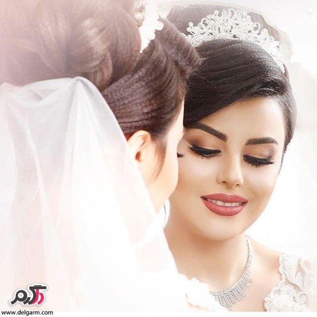 میکاپ حرفه ای عروس