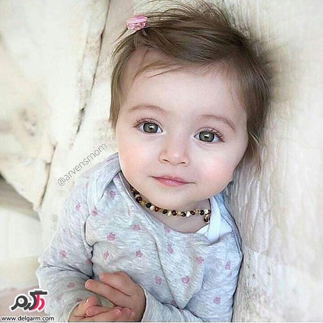 20 از بچه های زیبا و چشم رنگی