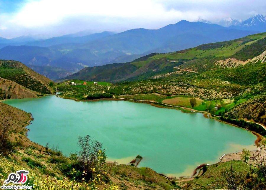 جاذبه گردشگری دریاچه ولشت چالوس+تصاویر