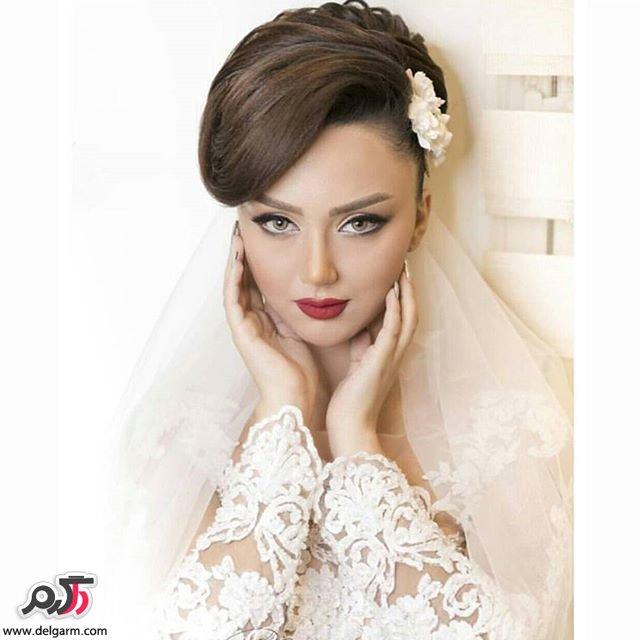 جدیدترین آرایش عروس مدل 97 و سال 2018