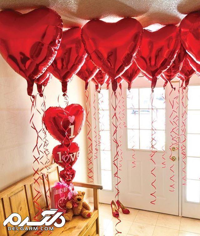 تزیین خلاقانه و عاشقانه خانه