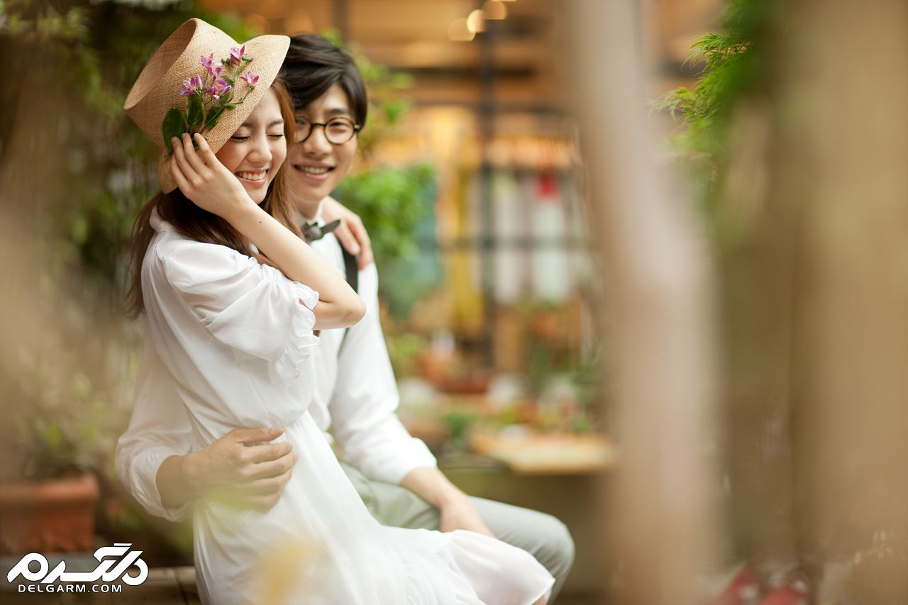 ژست عکس به سبک کره ای