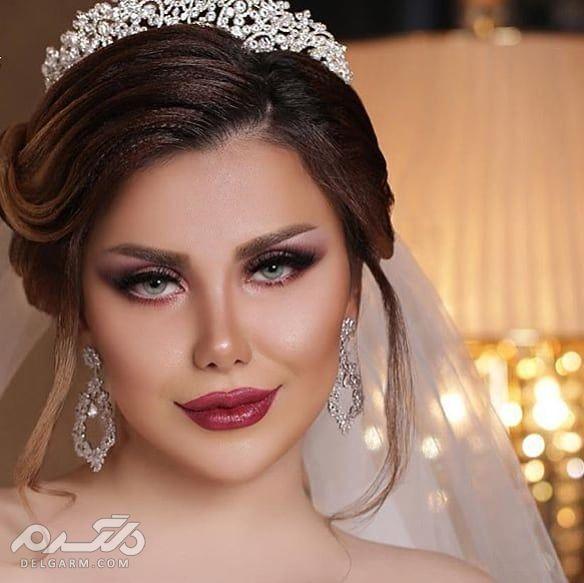 آرایش و گریم عروس 2018