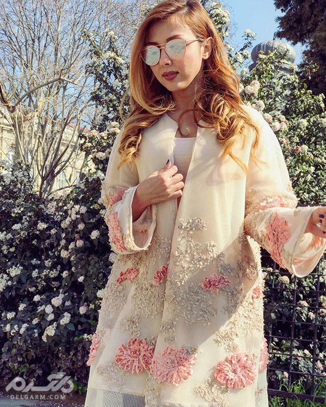 زیباترین مدل های مانتو بهاره 2018