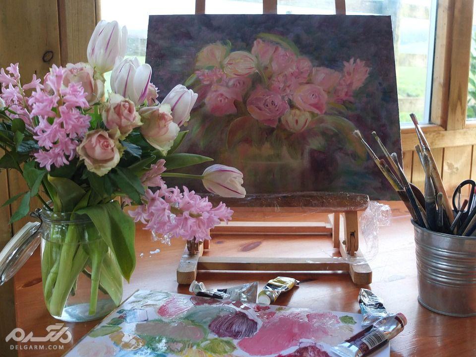 نقاشی های زیبا با رنگ و روغن - تقاشی زیبا   هنر نقاشی