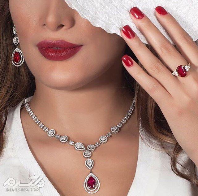 مدل جواهرات 97 و 2018 جدیدترین و شیک ترین مدل طلا و جواهر