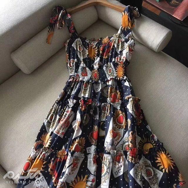 جدیدترین مدل لباس عروسکی زنانه و دخترانه مجلسی بلند کره ای 2018