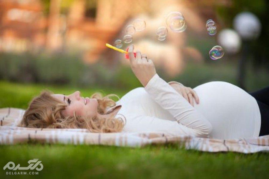 مجموعه عکس های زیبای زن و شوهر در زمان بارداری