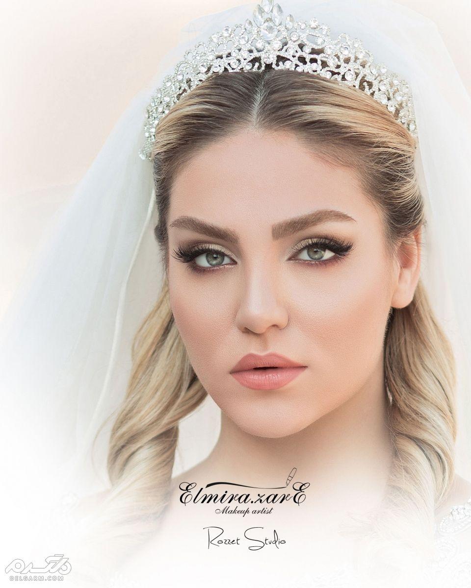 مدل گریم عروس جدید و حرفه ای برای انواع صورت ها و رنگ پوست های مختلف