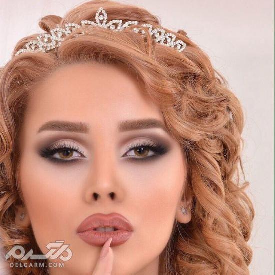 مدل میکاپ عروس 2019 - مدل ارایش محو اروپایی عروس - ارایش لایت عروس 2018 - 2019 - دلگرم