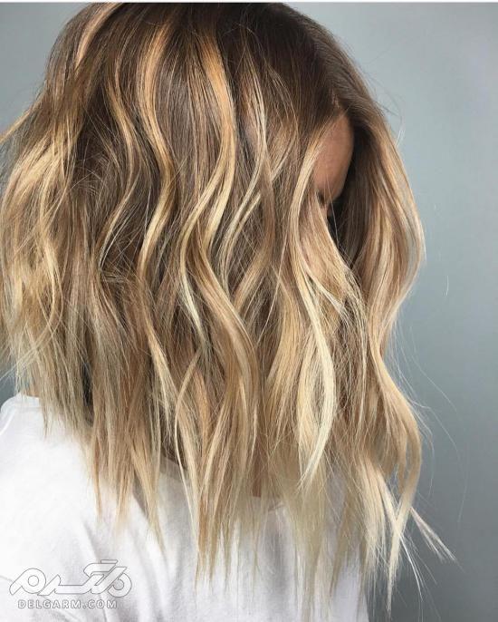 عکس از رنگ مو لایت جدید 2018 - 97 | رنگ موی هایلایت روشن - دلگرم