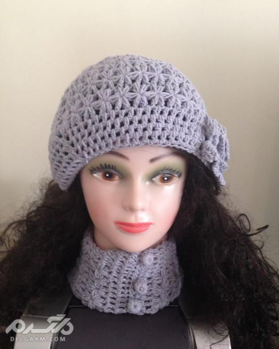 مدل کلاه بافتنی زنانه جدید