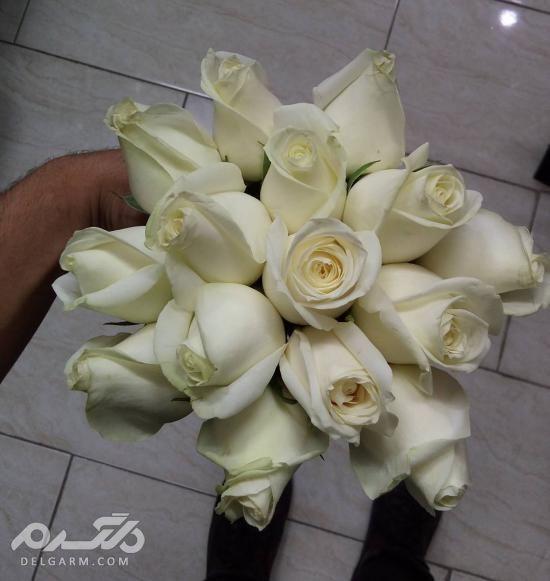 تزیین دسته گل عروس با تور - طرح های جدید از تزیین دسته گل عروس سال 2018