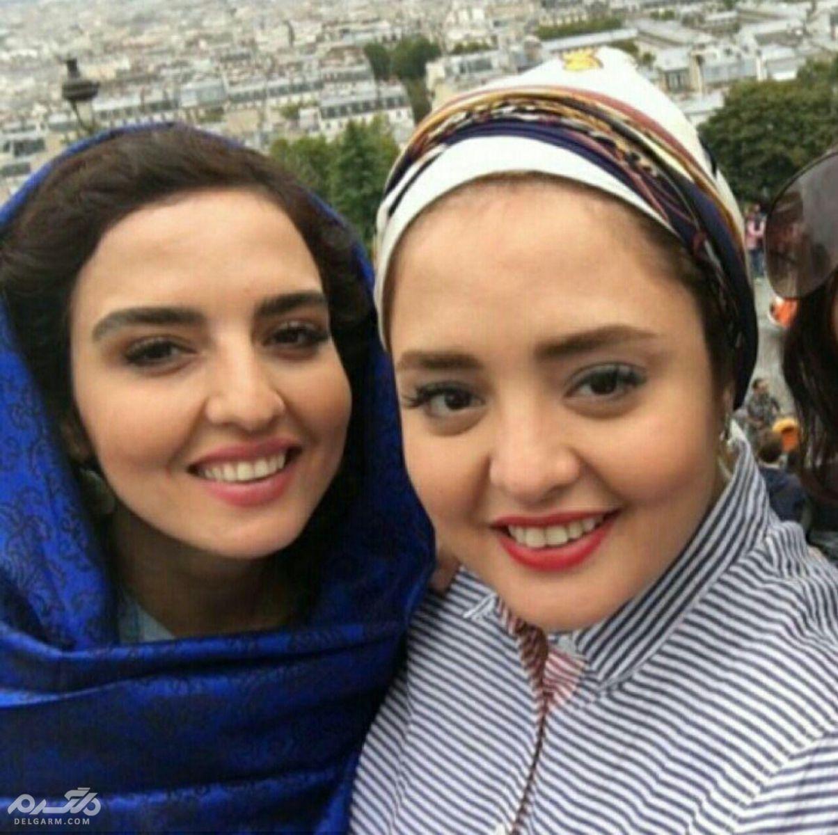 تصاویر نرگس محمدی و خواهرش