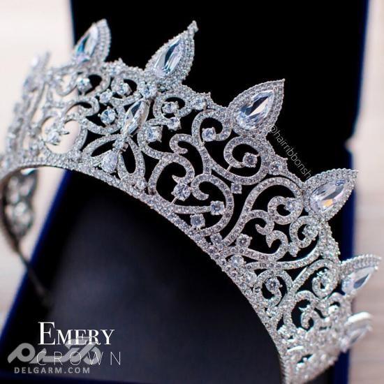 مدل تاج عروس ملکه ای - جدیدترین مدل تاج عروس