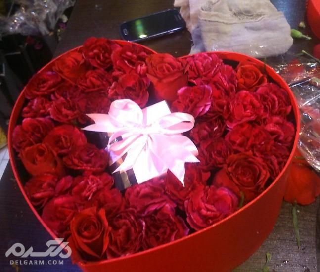 جدید ترین سبد گل خواستگاری - سبد گل خواستگاری- دسته گل خواستگاری با گل رز