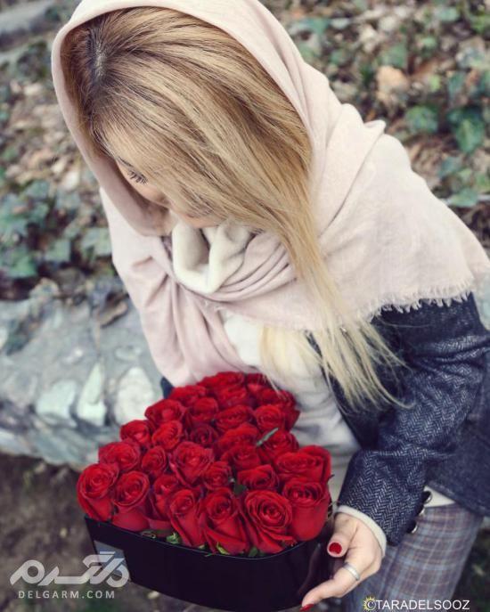 تزیین دسته گل ساده - تزیین دسته گل طبیعی - آموزش پیچیدن دسته گل رز