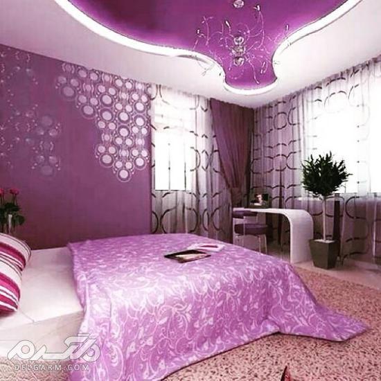 دکوراسیون اتاق خواب دخترانه ساده - دکوراسیون اتاق خواب ساده ایرانی دخترانه