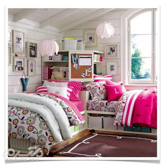 عکس اتاق خواب دخترانه ساده - دکوراسیون اتاق خواب دخترانه ساده - دکوراسیون اتاق خواب ساده ایرانی