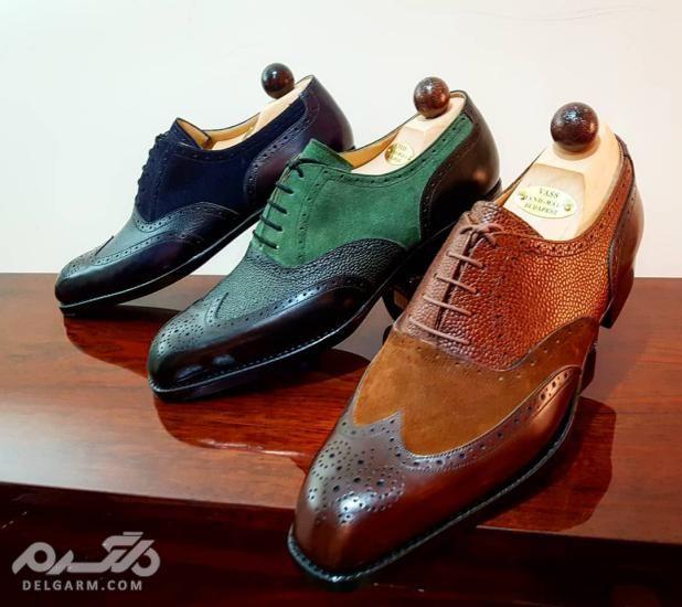 جدیدترین مدل کفش داماد