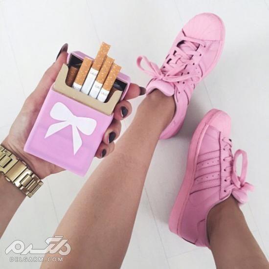 انواع کفش اسپرت دخترانه 2018 - 97 با طرح های جذاب و جدید سری (3)