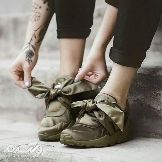 کفش اسپرت دخترانه 97 در انواع رنگ های سری (2)