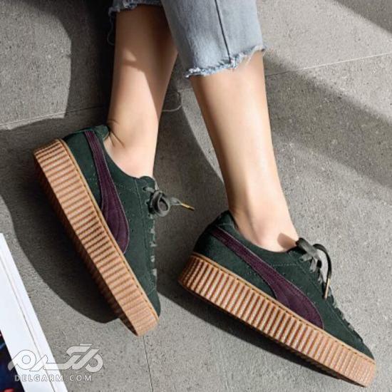 تصاویری از مدل کفش اسپرت زنانه شیک 2018 سری (1)