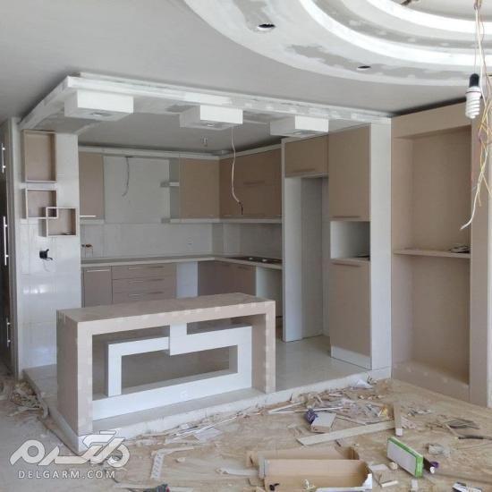 مدل کابینت آشپزخانه ایرانی جدید 2018 - 97 سری (اول)