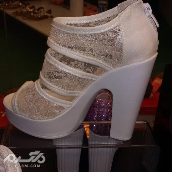 کفش عروس 2018 جدید سری (3)