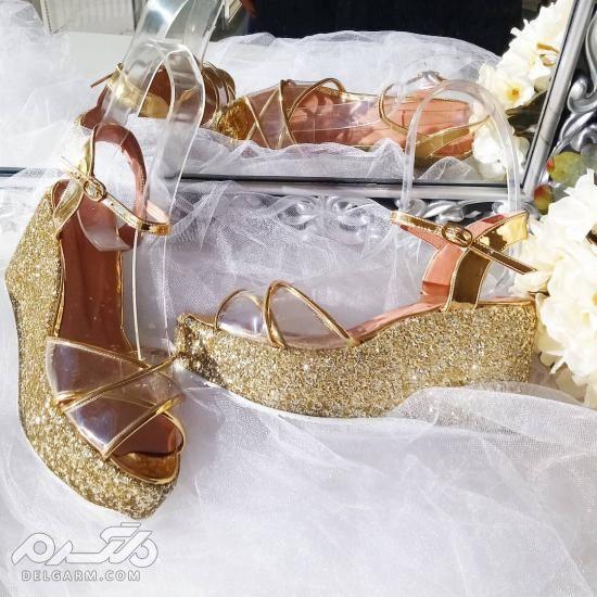مدل های کفش عروس شیک 2018 سری (2)