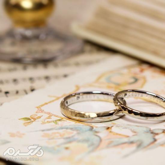 عکس حلقه ازدواج جفت,مدل حلقه ست عروس و داماد