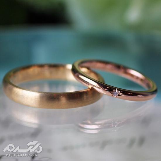 حلقه ازدواج ساده