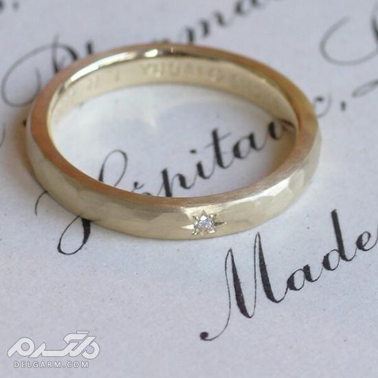 زیباترین و ارزشمندترین نمونه های حلقه ازدواج 2018 سری 1