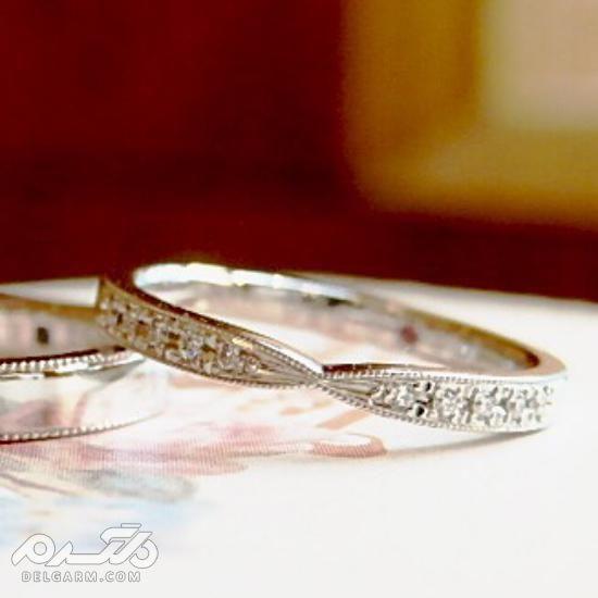 اخرین مدل حلقه ازدواج