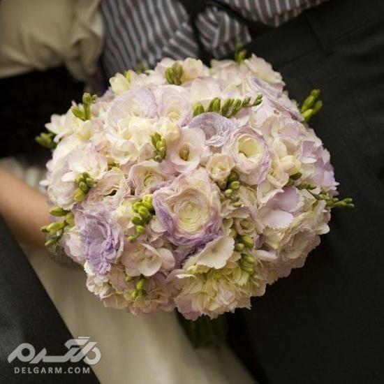 دسته گل رز عروس
