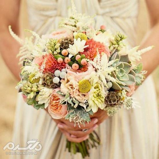 دسته گل عروس 2018
