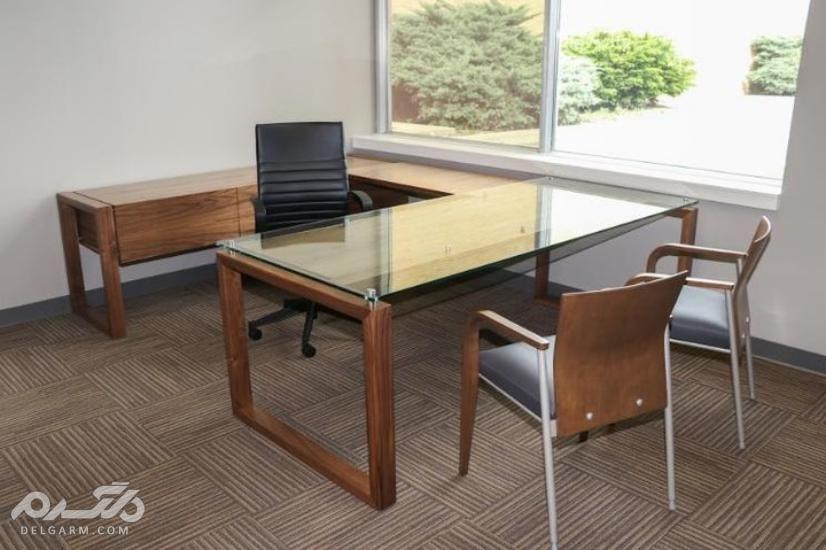 طراحی دفتر کار کوچک