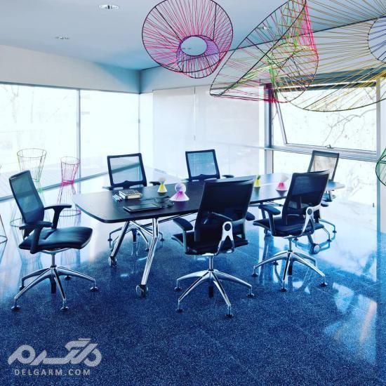 طراحی دفتر کار اداری