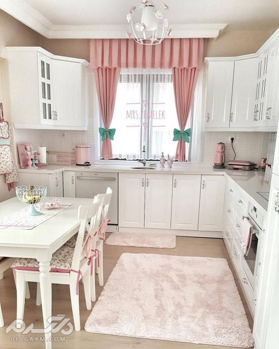 اشپزخانه مدرن سفید