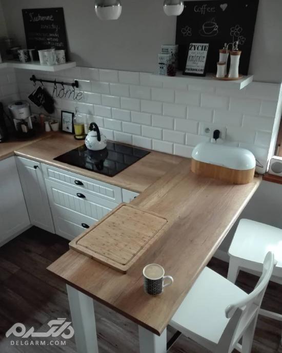 جدیدترین دکوراسیون آشپزخانه کوچک 97 - سری سوم