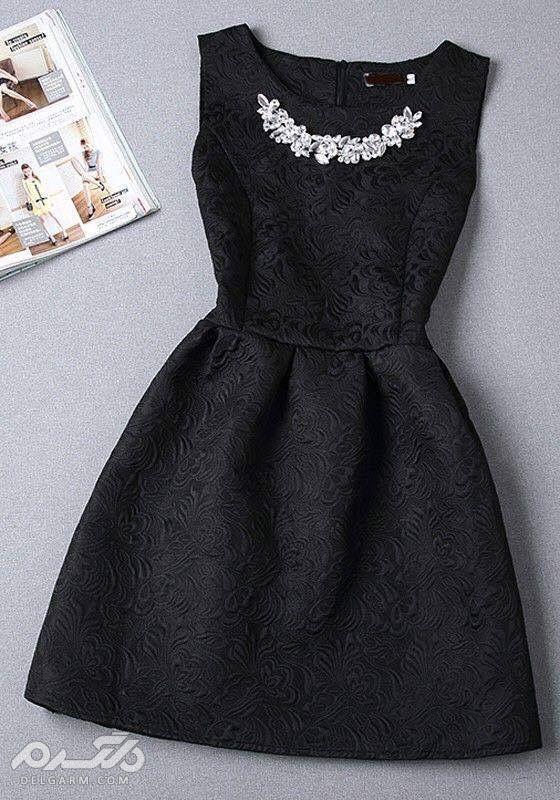 مدل لباس مجلسی کوتاه دخترانه 98