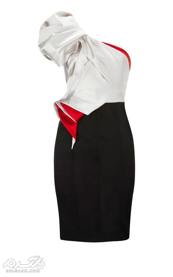 مدل لباس مجلسی کوتاه 1397