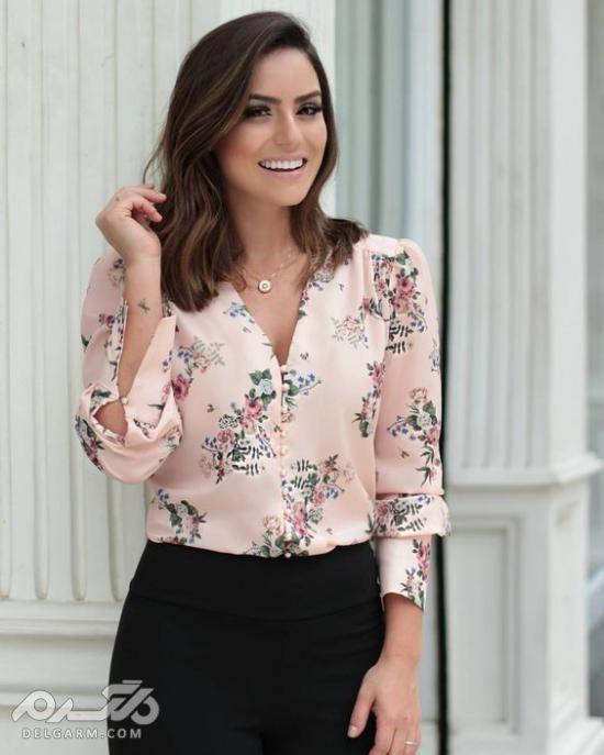 تصاویری جدید از مدل شومیز زنانه 2019 با طرح های دوست داشتنی و زیبا