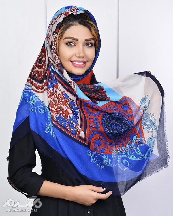 مدلهای جدید روسری نخی