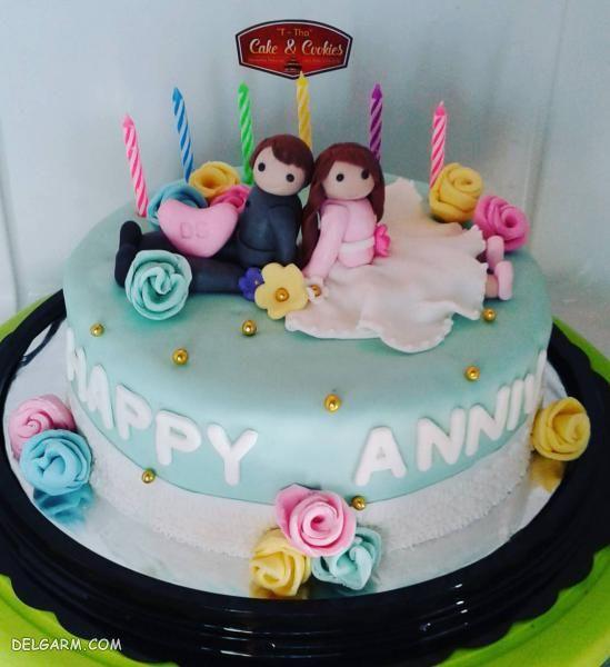 مدل های جدید کیک تولد مردانه