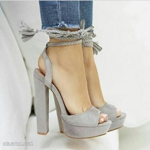 کفش پاشنه بلند مجلسی