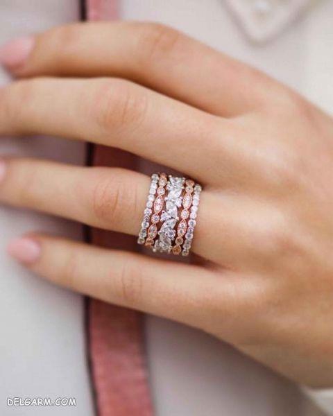 ۱۰۰ مدل حلقه های ازدواج جدید ۲۰۱۹